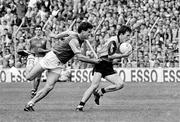 2 June 1991; Niall Guiden, Dublin, in action against Liam Hayes, Meath. Leinster Football Championship, Dublin v Meath, Croke Park, Dublin. Picture credit: Ray McManus / SPORTSFILE
