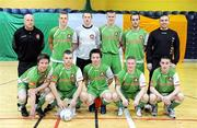 8 March 2009; The Cork City team. Futsal League of Ireland Final, St. Patrick's Athletic v Cork City. National Basketball Arena, Dublin. Picture credit: Stephen McCarthy / SPORTSFILE