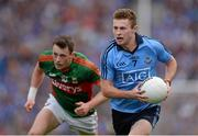 30 August 2015; Jack McCaffrey, Dublin. GAA Football All-Ireland Senior Championship, Semi-Final, Dublin v Mayo, Croke Park, Dublin. Picture credit: Brendan Moran / SPORTSFILE