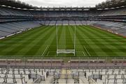 5 September 2015; A general view of Croke Park in advance of the game. Mayo. GAA Football All-Ireland Senior Championship Semi-Final Replay, Dublin v Mayo. Croke Park, Dublin. Picture credit: Ray McManus / SPORTSFILE