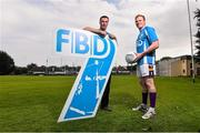 11 September 2015; Ray Cosgrove and Mark Vaughan, in attendance at the FBD7s Senior All Ireland Football 7s at Kilmacud Crokes, Stillorgan, Co. Dublin. Picture credit: David Maher / SPORTSFILE