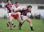 22 March 2009; Diarmaid Blake, Galway, in action against Paul Murphy, Derry. Allianz GAA National Football League, Division 1, Round 5, Derry v Galway, Glen Pitch, Maghera, Co. Derry. Picture credit: Oliver McVeigh / SPORTSFILE *** Local Caption ***