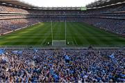 5 September 2015; A general view of Croke Park during the game. GAA Football All-Ireland Senior Championship Semi-Final Replay, Dublin v Mayo. Croke Park, Dublin. Picture credit: Stephen McCarthy / SPORTSFILE