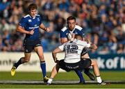 12 September 2015; Jack Conan, Leinster, in action against Gavin Evans, Cardiff Blues. Guinness PRO12, Round 2, Leinster v Cardiff Blues, RDS, Ballsbridge, Dublin. Picture credit: Ramsey Cardy / SPORTSFILE