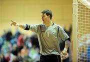 22 February 2009; John Perkins, Republic of Ireland. UEFA Futsal Championship 2010 Qualifying Tournament, Republic of Ireland v Kazakhstan. National Basketball Arena, Tallaght. Picture credit: Stephen McCarthy / SPORTSFILE
