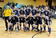 22 February 2009; The Kazakhstan squad. UEFA Futsal Championship 2010 Qualifying Tournament, Republic of Ireland v Kazakhstan. National Basketball Arena, Tallaght. Picture credit: Stephen McCarthy / SPORTSFILE