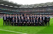 20 September 2015; The Cork 1990 Jubilee Football team during their presentation to the crowd before the game. GAA Football All-Ireland Senior Championship Final, Dublin v Kerry, Croke Park, Dublin. Picture credit: Piaras Ó Mídheach / SPORTSFILE
