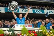 20 September 2015; Dublin's Diarmuid Connolly celebrates with the Sam Maguire cup. GAA Football All-Ireland Senior Championship Final, Dublin v Kerry, Croke Park, Dublin. Picture credit: Ray McManus / SPORTSFILE