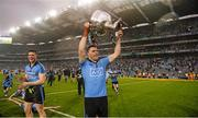 20 September 2015; Paddy Andrews, Dublin, celebrates with the Sam Maguire cup after the game. GAA Football All-Ireland Senior Championship Final, Dublin v Kerry, Croke Park, Dublin. Picture credit: Paul Mohan / SPORTSFILE