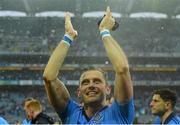 20 September 2015; Dublin's Alan Brogan celebrates after the game. GAA Football All-Ireland Senior Championship Final, Dublin v Kerry, Croke Park, Dublin. Picture credit: Piaras Ó Mídheach / SPORTSFILE