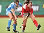 26 April 2009; Grace Irwin, Pegasus, in action against Elaine O'Neill, UCD. ESB Irish Senior Women's Cup Final, Pegasus v UCD, National Hockey Stadium, UCD, Dublin. Picture credit: David Maher / SPORTSFILE