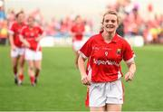 27 September 2015; Cork's Briege Corkery following her side's victory. TG4 Ladies Football All-Ireland Senior Championship Final, Croke Park, Dublin. Picture credit: Ramsey Cardy / SPORTSFILE