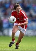 27 September 2015; Ciara O'Sullivan, Cork. TG4 Ladies Football All-Ireland Senior Championship Final, Croke Park, Dublin. Picture credit: Ramsey Cardy / SPORTSFILE