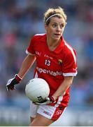 27 September 2015; Valerie Mulcahy, Cork. TG4 Ladies Football All-Ireland Senior Championship Final, Croke Park, Dublin. Picture credit: Ramsey Cardy / SPORTSFILE