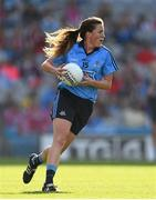 27 September 2015; Hannah Noonan, Dublin. TG4 Ladies Football All-Ireland Senior Championship Final, Croke Park, Dublin. Picture credit: Ramsey Cardy / SPORTSFILE