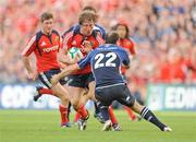 2 May 2009; Jerry Flannery, Munster, in action against Girvan Dempsey, Leinster. Heineken Cup Semi-Final, Munster v Leinster, Croke Park, Dublin. Picture credit: Pat Murphy / SPORTSFILE