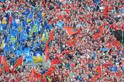 2 May 2009; Supporters at the game. Heineken Cup Semi-Final, Munster v Leinster, Croke Park, Dublin. Picture credit: Pat Murphy / SPORTSFILE