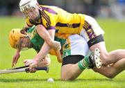 3 May 2009; Ger Oakley, Offaly, in action against Ciaran Kenny, Wexford. Allianz GAA NHL Division 2 Final, Wexford v Offaly, Semple Stadium, Thurles, Co. Tipperary. Picture credit: David Maher / SPORTSFILE