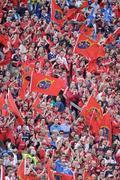2 May 2009; Munster fans on Hill 16. Heineken Cup Semi-Final, Munster v Leinster, Croke Park, Dublin. Picture credit: Brendan Moran / SPORTSFILE