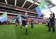 2 May 2009; Leinster's Brian O'Driscoll runs onto the pitch before the game. Heineken Cup Semi-Final, Munster v Leinster, Croke Park, Dublin. Picture credit: Brendan Moran / SPORTSFILE