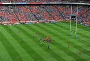 2 May 2009; A general view of action between Munster and Leinster. Heineken Cup Semi-Final, Munster v Leinster, Croke Park, Dublin. Picture credit: Ray McManus / SPORTSFILE