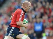 2 May 2009; Paul O'Connell, Munster. Heineken Cup Semi-Final, Munster v Leinster, Croke Park, Dublin. Picture credit: Ray McManus / SPORTSFILE