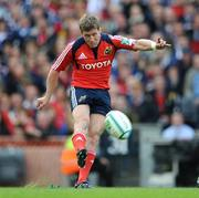 2 May 2009; Ronan O'Gara, Munster. Heineken Cup Semi-Final, Munster v Leinster, Croke Park, Dublin. Picture credit: Ray McManus / SPORTSFILE