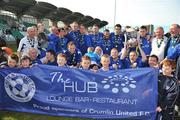 10 May 2009; Crumlin United FC players and officials celebrate after winning the FAI Umbro Intermediate Cup . FAI Umbro Intermediate Cup Final, Crumlin United FC v Bluebell United FC, Tallaght Stadium, Dublin. Picture credit: David Maher / SPORTSFILE
