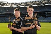 7 October 2015; The GAA/GPA All-Stars, sponsored by Opel are delighted to announce Dublin's Paddy Andrews, left, and Kilkenny's TJ Reid as the Opel Players of the Month for September in football and hurling respectively. Croke Park, Dublin. Picture credit: Seb Daly / SPORTSFILE