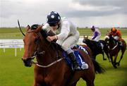 23 May 2009; Emily Blake, with Johnny Murtagh up, races clear of the field on their way to winning the TRI Equestrian Stakes. Boylesports.com Irish Guineas Festival 2009, Curragh Racecourse, Co. Kildare. Picture credit: Pat Murphy / SPORTSFILE