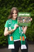"""25 May 2009; Former Miss Ireland Blathnaid McKenna at the launch of """"Ireland's Grand Slam Season"""", a pictorial record of the 2009 Six Nations campaign, as captured by the Sportsfile photographers, which is on sale now, priced €24.95, from leading book stores across the country. Picture credit: David Maher / SPORTSFILE"""