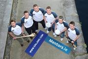26 May 2009; At the launch of new GPA Player Welfare Initiatives in association with Mentors.ie are, from left to right, Tony Browne, Waterford, Barry Cahill, Dublin, James Reilly, Cavan, Brendan Boyle, Donegal, Craig Rogers and MJ Tierney, both Laois. The Croke Park Hotel, Jones's Road, Dublin. Picture credit: David Maher / SPORTSFILE