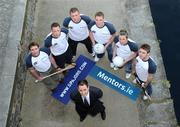 26 May 2009; At the launch of new GPA Player Welfare Initiatives in association with Mentors.ie are, Micheal O'Callarain, President of Mentors.ie, centre, with players, from left to right, Tony Browne, Waterford, Barry Cahill, Dublin, James Reilly, Cavan, Brendan Boyle, Donegal, Craig Rogers and MJ Tierney, both Laois. The Croke Park Hotel, Jones's Road, Dublin. Picture credit: David Maher / SPORTSFILE