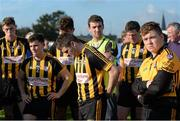 11 October 2015; Mountbellew/Moylough players dejected at the final whistle. Galway County Senior Football Championship Final, Mountbellew/Moylough v Corofin. Tuam Stadium, Tuam, Co. Galway. Picture credit: Sam Barnes / SPORTSFILE