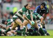 23 May 2009; Julien Dupuy, Leicester Tigers. Heineken Cup Final, Leinster v Leicester Tigers, Murrayfield Stadium, Edinburgh, Scotland. Picture credit: Ray McManus / SPORTSFILE