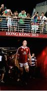 1 June 2013; British & Irish Lions captain Paul O'Connell leads his side out ahead of the game. British & Irish Lions Tour 2013, Barbarians v British & Irish Lions, Hong Kong Stadium, So Kon Poh, Hong Kong, China. Picture credit: Stephen McCarthy / SPORTSFILE