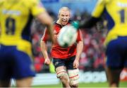 13 December 2008; Paul O'Connell, Munster, in action against ASM Clermont Auvergne. Heineken Cup, Pool 1, Round 4, Munster v ASM Clermont Auvergne, Thomond Park, Limerick. Picture credit: Diarmuid Greene / SPORTSFILE
