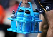 23 May 2009; A general view of Powerade Bottles. Heineken Cup Final, Leinster v Leicester Tigers, Murrayfield Stadium, Edinburgh, Scotland. Picture credit: Matt Browne / SPORTSFILE