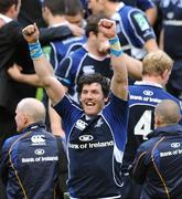 23 May 2009; Leinster's Shane Horgan celebrates after victory over Leicester Tigers. Heineken Cup Final, Leinster v Leicester Tigers, Murrayfield Stadium, Edinburgh, Scotland. Picture credit: Matt Browne / SPORTSFILE