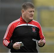18 October 2015; Shane Curran, Pádraig Pearses manager. Roscommon County Senior Football Championship Final, Pádraig Pearses v Clann na nGael. Dr. Hyde Park, Roscommon. Picture credit: David Maher / SPORTSFILE