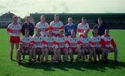 National Football League Quarter Final, Derry v Mayo, Markievicz Park, Sligo, 5/4/98. Derry team picture. Photograph © David Maher SPORTSFILE.