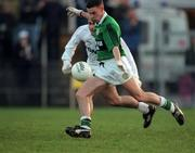 Niall Crossan Erins Isle scores their second goal V Clane , Navan, 7/12/97. Photograph David Maher SPORTSFILE