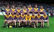 5/7/98, Wexford Minor Team, Leinster Hurling Championship,  Croke Park. Picture Credit: Ray McManus/SPORTSFILE.
