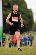 18 October 2015; Sean Doyle, Rathfarnham W.S.A.F AC, Dublin, in action during the Autumn Open Cross Country. Phoenix Park, Dublin. Picture credit: Tomás Greally / SPORTSFILE