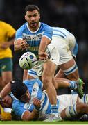 25 October 2015; Martin Landajo, Argentina. 2015 Rugby World Cup, Semi-Final, Argentina v Australia. Twickenham Stadium, Twickenham, London, England. Picture credit: Ramsey Cardy / SPORTSFILE