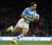 25 October 2015; Joaquin Tuculet, Argentina. 2015 Rugby World Cup, Semi-Final, Argentina v Australia. Twickenham Stadium, Twickenham, London, England. Picture credit: Ramsey Cardy / SPORTSFILE