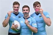 28 October 2015; Leinster, Ireland and UCD's young rugby stars Josh Van der Flier, left, Garry Ringrose, right, and Luke McGrath at the launch of Movember in UCD, Dublin. Picture credit: Matt Browne / SPORTSFILE