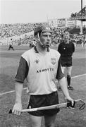 21 July 1991; Dublin captain John Twomey. Leinster Senior Hurling Championship Final, Dublin v Kilkenny, Croke Park, Dublin. Picture credit; Connolly Collection / SPORTSFILE