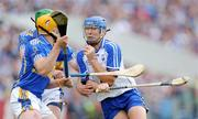12 July 2009; Declan Prendergast, Waterford, in action against Declan Fanning and Padraic Maher, Tipperary. GAA Hurling Munster Senior Championship Final, Tipperary v Waterford, Semple Stadium, Thurles, Co. Tipperary. Picture credit: Brendan Moran / SPORTSFILE