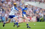 12 July 2009; Brendan Maher, Tipperary, in action against Maurice Sheridan, Waterford. GAA Hurling Munster Senior Championship Final, Tipperary v Waterford, Semple Stadium, Thurles, Co. Tipperary. Picture credit: Brendan Moran / SPORTSFILE